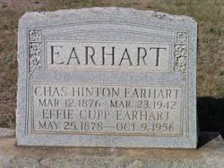 Effie <i>Cupp</i> Earhart