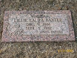 Lillie Laura <i>Lucas</i> Baxter
