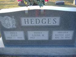 Baby Hattie Lue Hedges