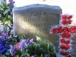 Lottie <i>Still</i> Bryant