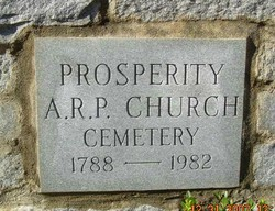 Prosperity Presbyterian Church Cemetery