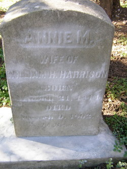 Anna Maria <i>Curts</i> Harrison