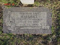 Deborah Faye Marshall