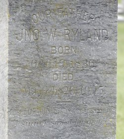 Rev John William Ryland