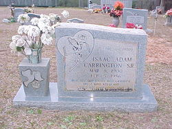 Isaac Adam Carrington, Sr