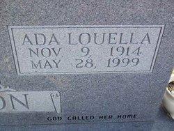 Ada Louella <i>Anglin</i> Atkinson