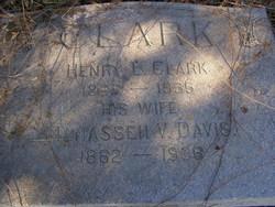 Manasseh V. <i>Davis</i> Clark