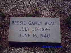 Bessie Ganey Beall