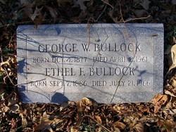 Ethel F Bullock