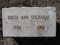 Docia Ann <i>Marley</i> Lochabay