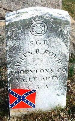 Sgt Allen Brockenbrough Bowie