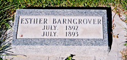 Esther (baby) Barngrover
