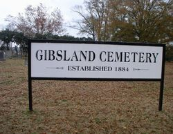 Gibsland Cemetery