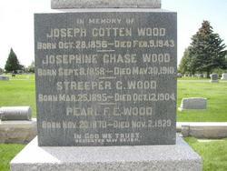 Josephine Streeper <i>Chase</i> Wood