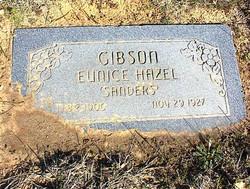 Eunice Hazel <i>Sanders</i> Gibson