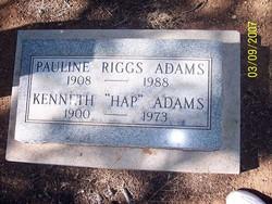Kenneth Hap Adams