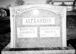 Elizabeth H <i>MacDonald</i> Alexander