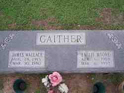 Emilie Anne <i>Moore</i> Gaither