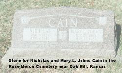 Nicholas Cain