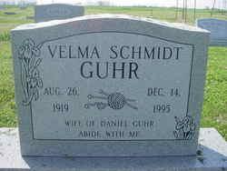 Velma <i>Schmidt</i> Guhr
