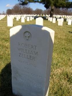 PFC Robert William Bobby Zeller