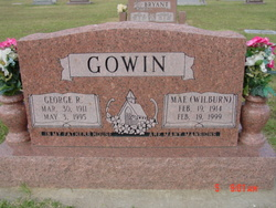 Mae <i>Wilburn</i> Gowin