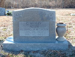 Christopher Wesley Aclin