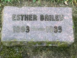 Esther Elizabeth <i>Oberg</i> Bailey