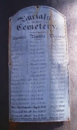 Richards-Gilbert Family Cemetery