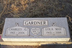 Lola May <i>Prestridge</i> Gardner