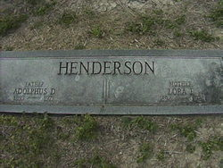 Lora Estelle <i>Pugh</i> Henderson