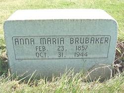 Anna Maria <i>Hill</i> Brubaker