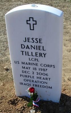 LCpl Jesse Daniel Tillery