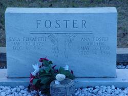 Ann <i>Foster</i> Archer