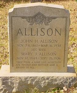 Mary Jane <i>Kelly</i> Allison