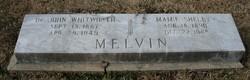 Dr John Whitworth Melvin