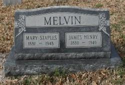Mary <i>Staples</i> Melvin