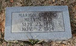 Marion Edmund Melvin