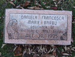 Daniela Francesca Marie Barbu