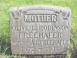 Olive Lovetta <i>Robinson</i> Freehafer