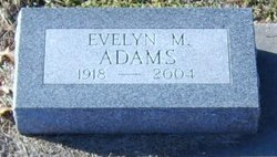 Evelyn Mae <i>Bierly</i> Adams