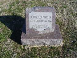 Gertie Lee Snider