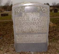 Lillie Pearl Auntie Barnhart