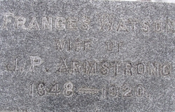 Frances <i>Watson</i> Armstrong