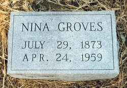 Delina Nina Jane <i>Brooks</i> Groves
