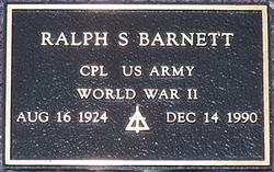 Ralph S Barnett