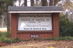 Greenwell Springs Baptist Church Cemetery