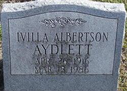 Ivilla <i>Albertson</i> Aydlett