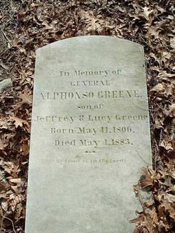 Gen Alphonso Greene