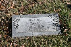 Allie Mae <i>McMurray</i> Banks